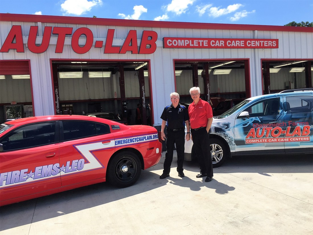 Auto-Lab Texas Announces Partnership with Emergency Ministries - Media Relations Auto Lab Complete Car Care - Skip_Straus_Emergency_Chaplains_Edited