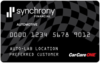Special Financing - Auto-Lab Complete Car Care Centers - carcare-one-card_al